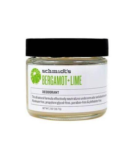 Déodorant Naturel en Pot - Bergamote Citron Vert - Schmidt's