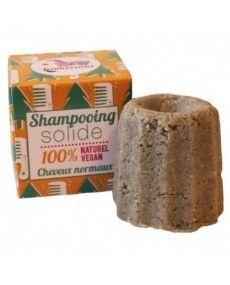 Shampoing solide cheveux secs - Orange - Lamazuna