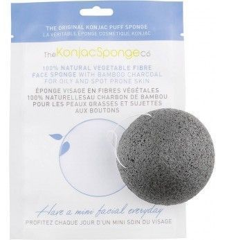 EPONGE KONJAC BAMBOO CHARCOAL - THE KONJAC SPONGE CO