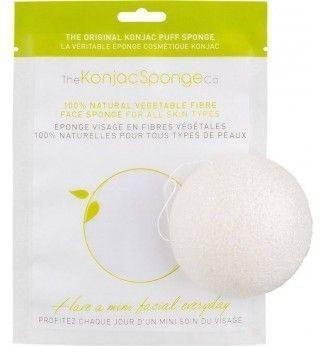 Eponge Konjac à l'Argile Verte visage - THE KONJAC SPONGE CO