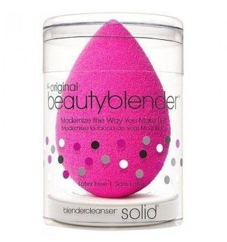 Kit éponge maquillage teint Original + Nettoyant solide Blender Cleanser - Beauty Blender