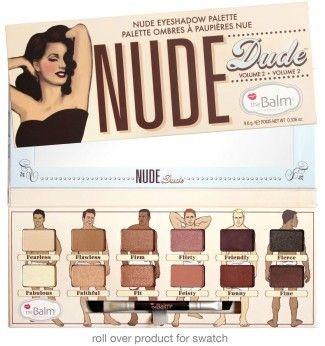 Nude Tude - Palette d'ombres à paupières - The Balm