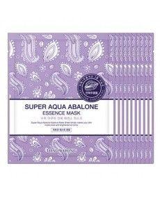 Masque Tissus Extrait d'Ormeau - Nutrition, Éclat et Jeunesse de la peau - TOSOWOONG