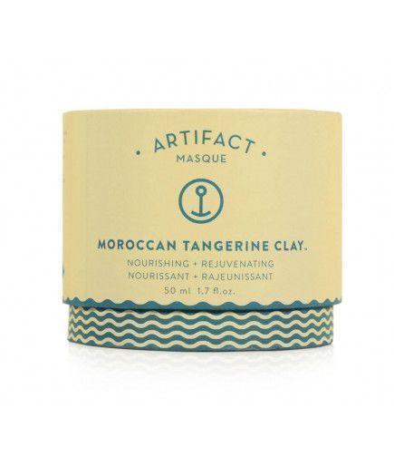 Маска для Лица Moroccan Tangerine Clay - Питательный + Обновляющий - ARTIFACT
