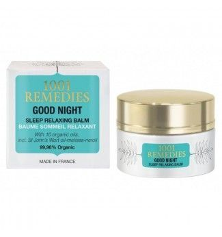 Baume de nuit relaxant - Good Night - 1001 REMEDIES