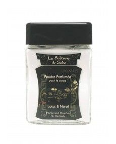 Poudre Parfumée pour le corps - Lotus et Néroli - La Sultane de Saba