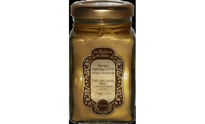 Masque Anti-âge à l'Or - Cèdre Patchouli - La Sultane de Saba