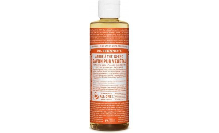 Savon Liquide Castile Soap - Tea Tree - Dr Bronner