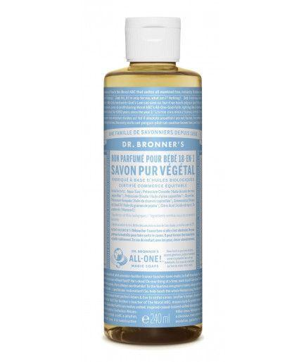 Savon Liquide Castile Soap - Bébé - Dr Bronner
