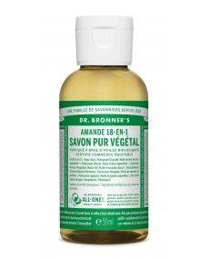 Savon Liquide Castile Soap - Amande - Dr Bronner