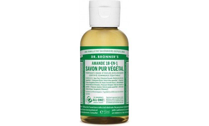 Savon Pur Végétal Liquide - Amande - Dr Bronner