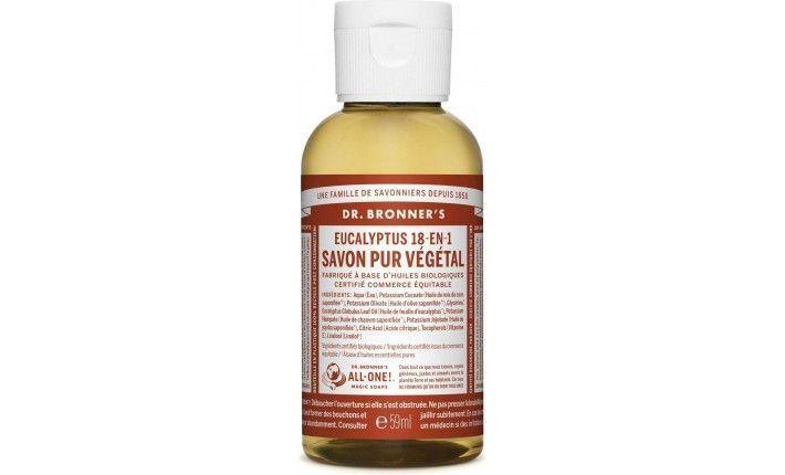 Savon Pur Végétal Liquide - Eucalyptus - Dr Bronner