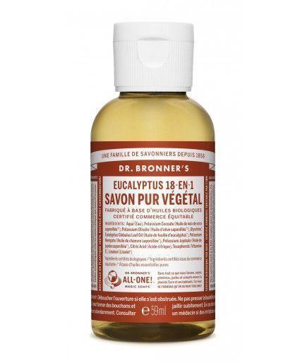 Liquid Soap-Sapone Castiglia - Eucalipto Dr. Bronner's
