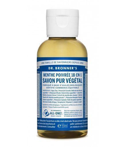 Savon Liquide Castile Soap - Menthe Poivrée - Dr Bronner