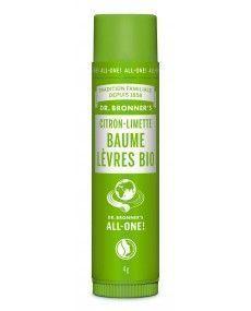 Baume à lèvres - Citron agrumes - Dr Bronner