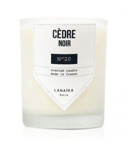 Bougie - Cèdre Noir - LANAÏKA