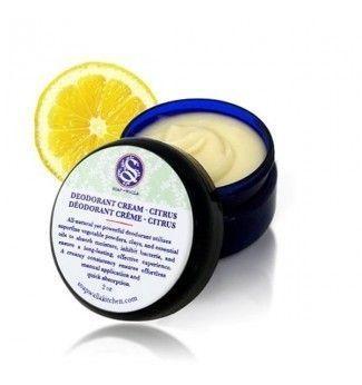 Déodorant naturel crème citron - SoapWalla
