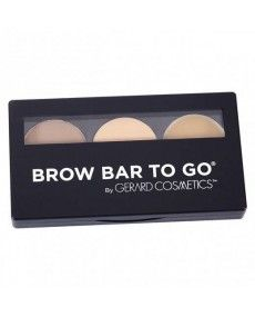 Kit Sourcils - Brow Bar To Go Kit Blonde à Chatain - Gerard Cosmetics