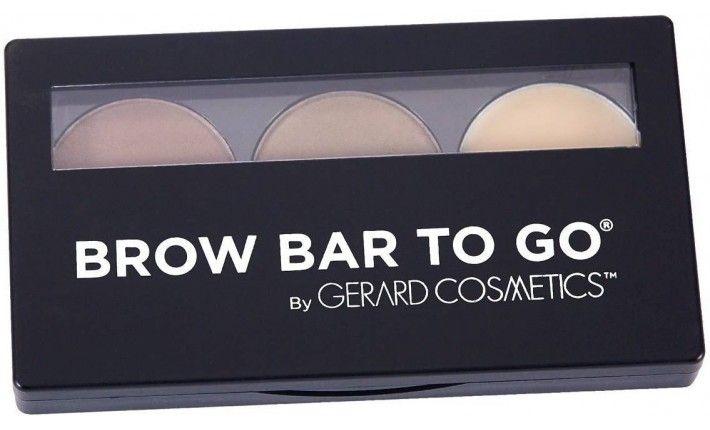 Kit Sourcils - Brow Bar To Go Kit Medium à Brune - Gerard Cosmetics