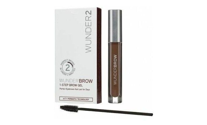 Gel Teinté Semi permanent pour sourcils - Brunette - Wunderbrow