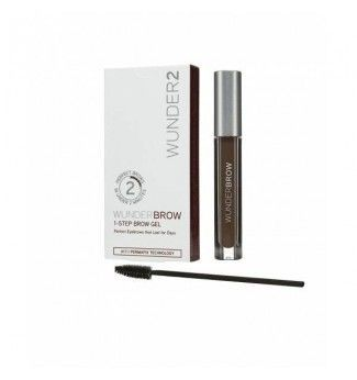 Gel Teinté Semi permanent pour sourcils - Black Brown Noir Marron - Wunderbrow