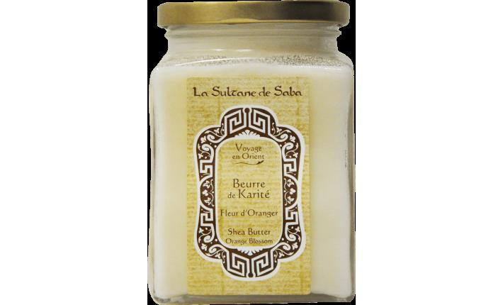 Beurre de karité - Fleur d'Oranger - La Sultane de Saba