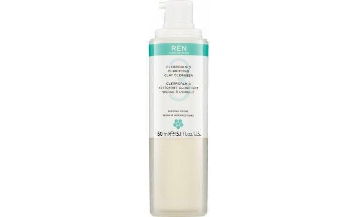 Nettoyant Clarifiant Visage à l'Argile - Clear Calm 3 - REN Skincare