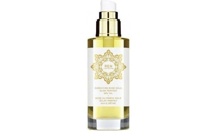 Huile Sèche Gold Eclat Parfait - Rose du Maroc - REN Skincare