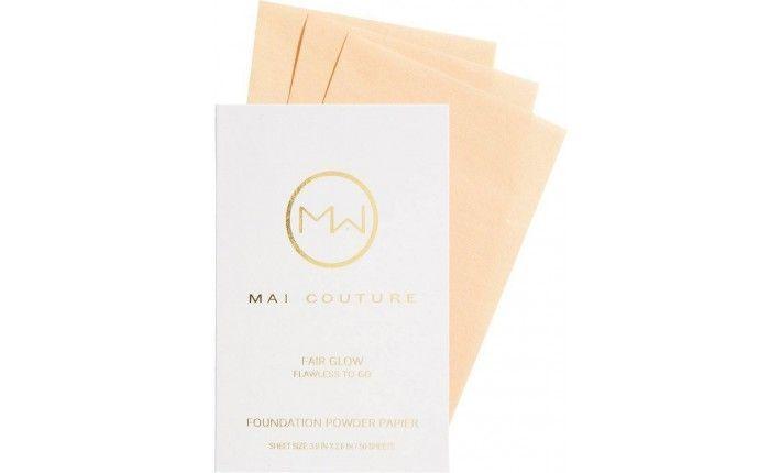Fond de teint poudre en papier - Fair Glow - Mai Couture