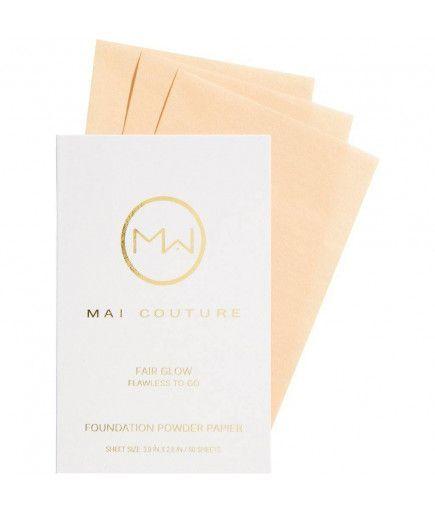 Fundación de polvo de papel - Feria de Brillo - Mai Couture