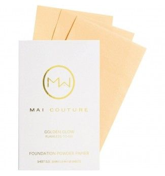 Fond de teint poudre en papier - Golden Glow - Mai Couture