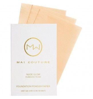Fond de teint poudre en papier - Nude Glow - Mai Couture