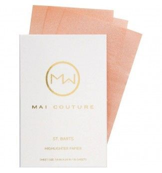 Highlighter en Papier - St. Barts - Mai Couture