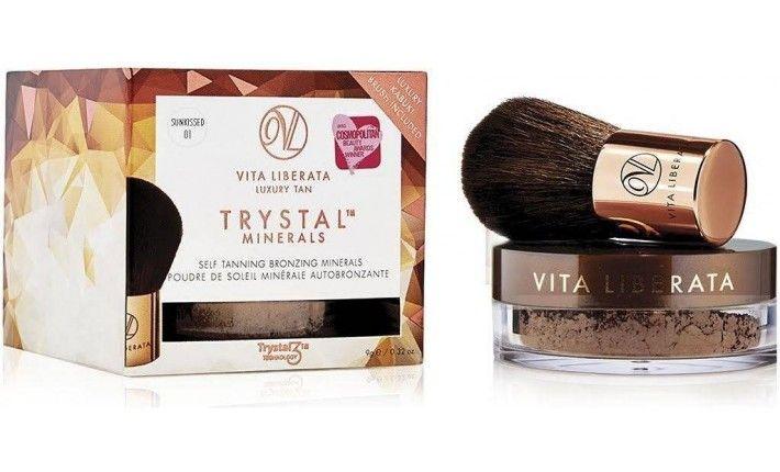 Autobronzant Trystal Minerals - Poudre de soleil autobronzante - Sunkissed - Vita Liberata