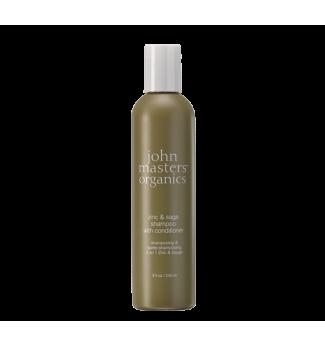 Shampoing 2-en-1- Zinc et Sauge - John Masters Organics