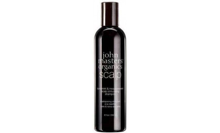 Shampoing Stimulant Reine des Prés et Menthe Poivrée - John Masters Organics