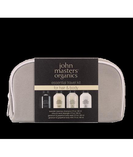 Trousse Voyage - Cheveux et Corps - John Masters Organics