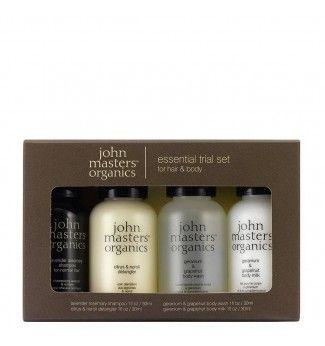 Trousse d'essai - Corps et Cheveux - John Masters Organics