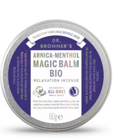 Magic Balm Bio Arnica Menthol - Baume pour les douleurs musculaires - Dr Bronner