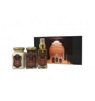 Coffret de massage Ayurvédique : Ambre, Vanille et Patchouli - La Sultane de Saba