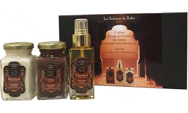 Ayurvedische Massage Paket Amber Vanille Und Patchouli Der Sultane De Saba