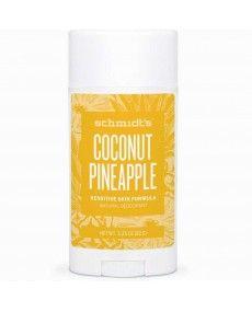 Déodorant Naturel Noix de Coco Ananas - Sensitive - Schmidt's