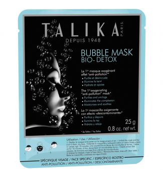 Bubble Mask Bio Detox - Masque Anti Pollution - TALIKA