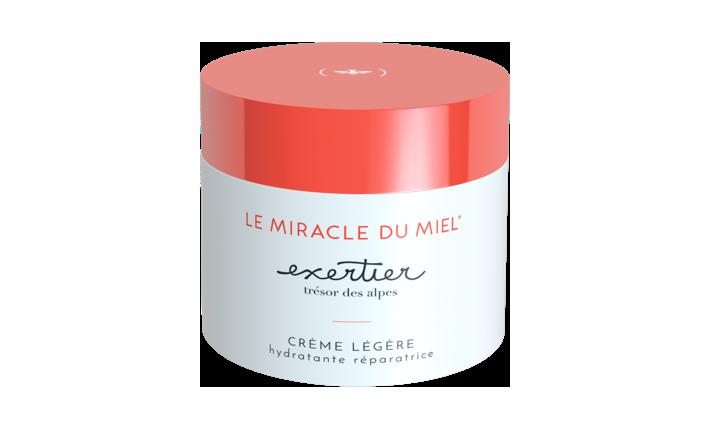 Crème Légère Hydratante Réparatrice - Le Miracle du Miel - Exertier