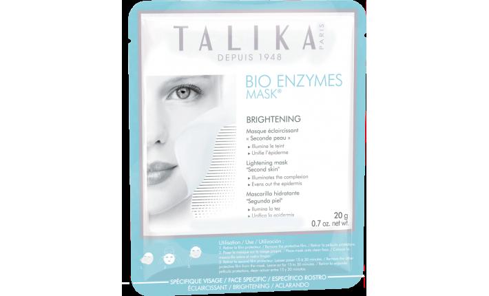 Bio Enzyme Mask - Masque éclaircissant seconde peau - TALIKA
