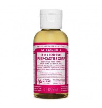Savon Liquide Castile Soap - Rose - Dr Bronner