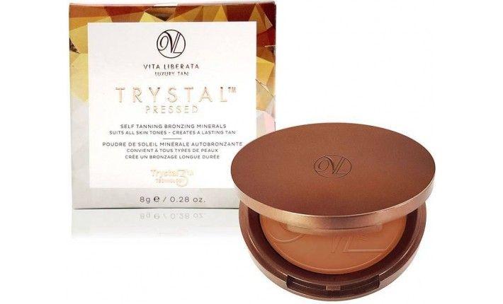 Autobronzant Trystal Pressed - Poudre de soleil autobronzante - Bronze - Vita Liberata
