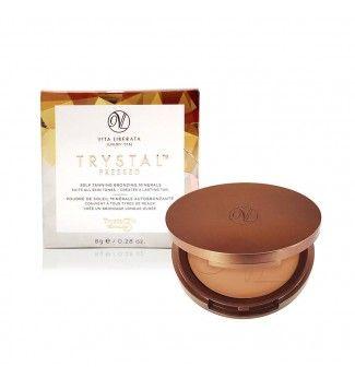 Autobronzant Trystal Pressed - Self Tan Bronzing Minerals - Sunkissed - Vita Liberata