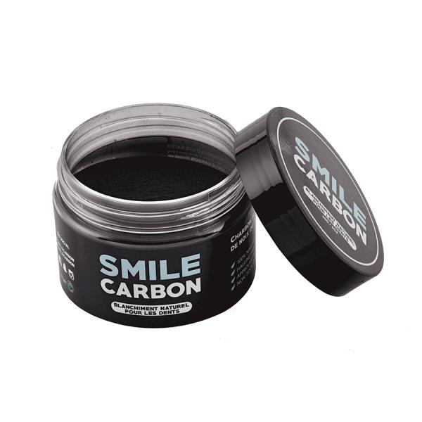 charbon actif blanchisseur de dents naturel 60gr smile carbon kit de blanchiment dentaire. Black Bedroom Furniture Sets. Home Design Ideas