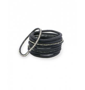 9 Élastiques épais noirs - Bachca